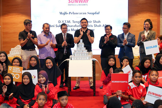Wendy Pua | Malaysia Chinese Lifestyle Blogger: SUNWAY HOTELS & RESORTS LAUNCHES SOAPFUL, A SOAP REPURPOSING PROJECT TO HELP SELECTED HOMES SET-UP SOCIAL ENTERPRISE