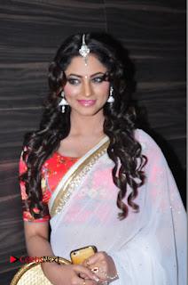 Actress Shilpi Sharma Pictures in White Saree at Kotikokkadu Audio Launch .COM 0057.JPG