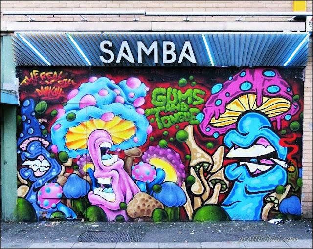 Straßenkunst, Graffiti, London, street art works