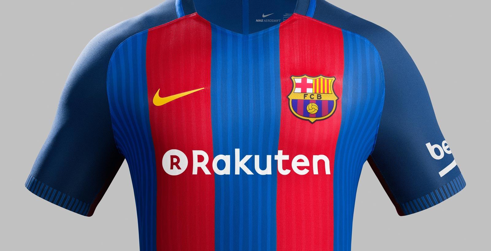 Barcelona Announces Record Breaking Rakuten Shirt