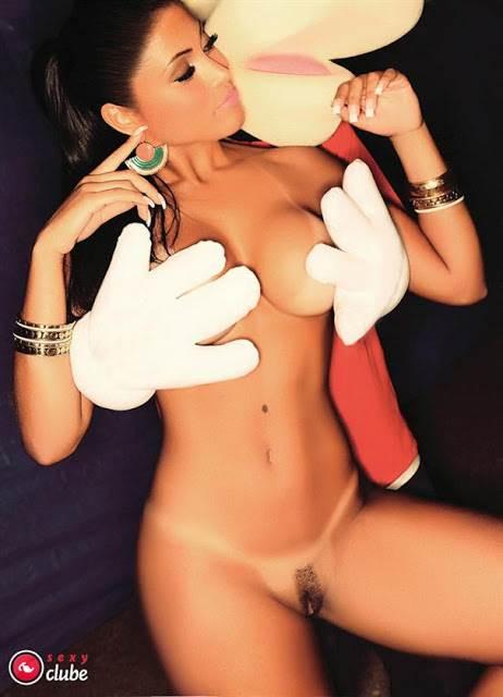 Bailarinas do Faustão peladas nuas na sexy 5