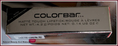 Haulpost featuring Colorbar Sweetheart Red Lipstick on Natural Beauty And Makeup blog