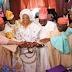 Photos from the traditional wedding of Obasanjo's son, Olujonwo & Kessington Adebutu's daughter, Tope