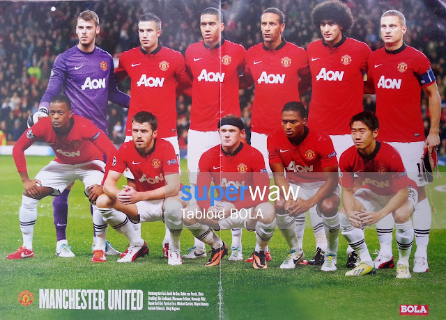 Big Poster Tim Manchester United 2013