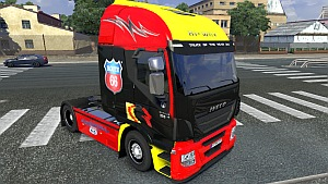 Iveco Hi-Way Route 66 skin + interior pack