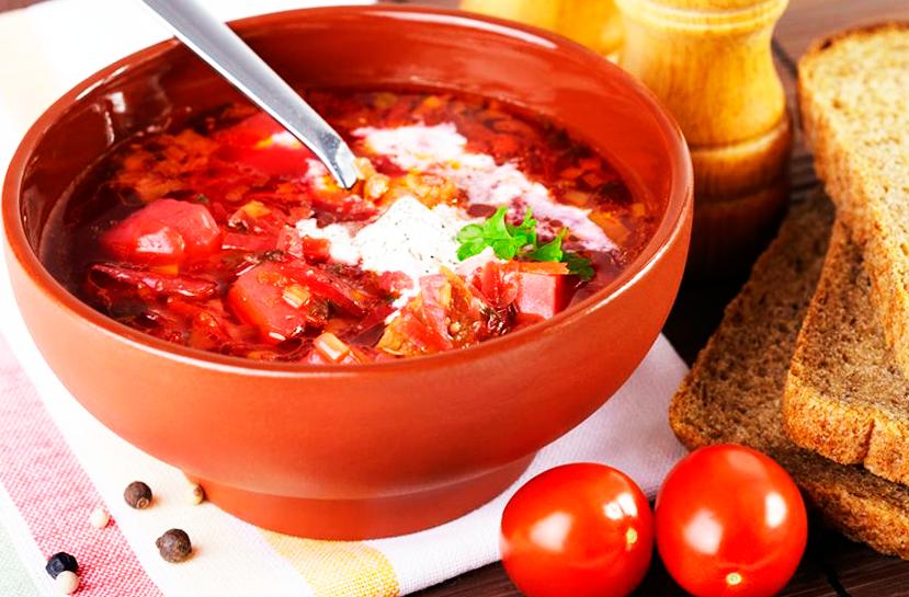 Борщ красный рецепт классический с фото