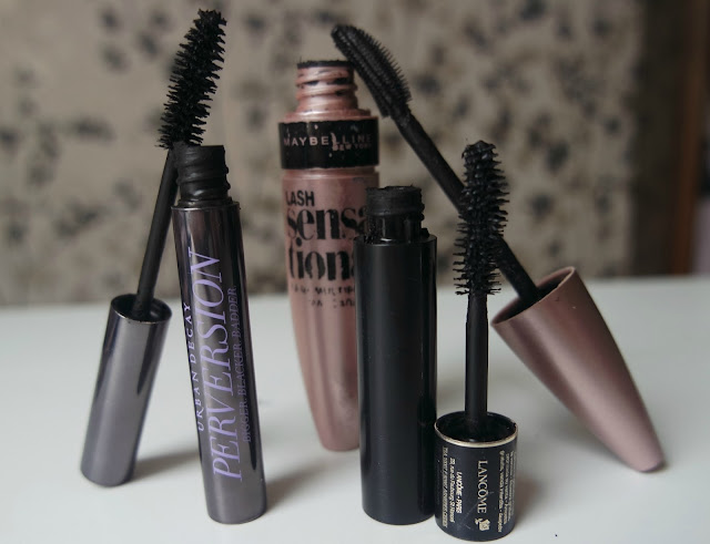 Beauty Mascaras Favourites from 2015 including Maybelline Lash Sensational, Urban Decay Perversion & Lancome Hypnose