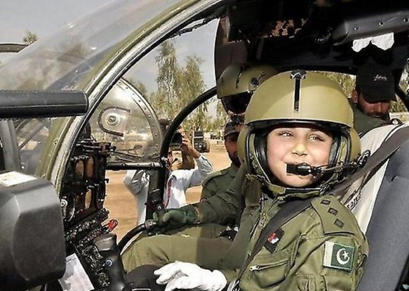 Naima Gul Becomes First Female Pilot In Pakistan Army