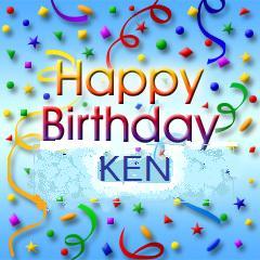 Happy Birthday Ken Cake Images