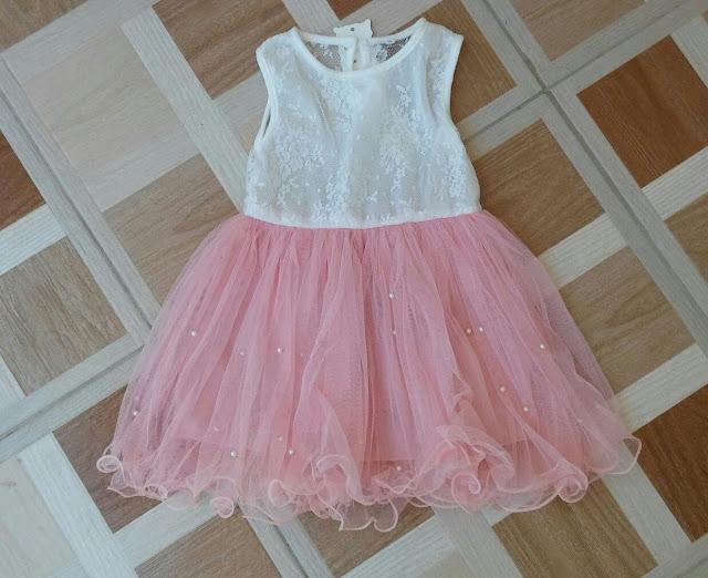 vestido de baile infantil