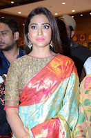 Shriya Saran Looks Stunning in Silk Saree at VRK Silk Showroom Launch Secundrabad ~  Exclusive 156.JPG
