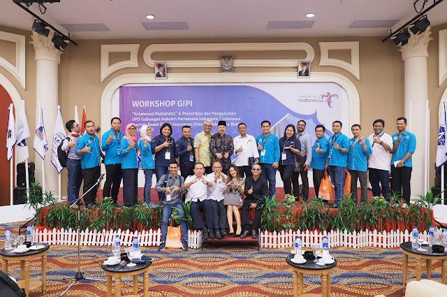 Pelantikan Asosiasi Gabungan Industri Pariwisata Indonesia dari Provinsi Kepulauan Riau
