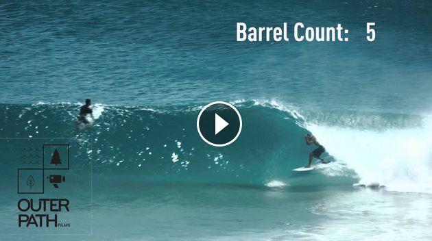 Superbank 7 barrels - 1 wave