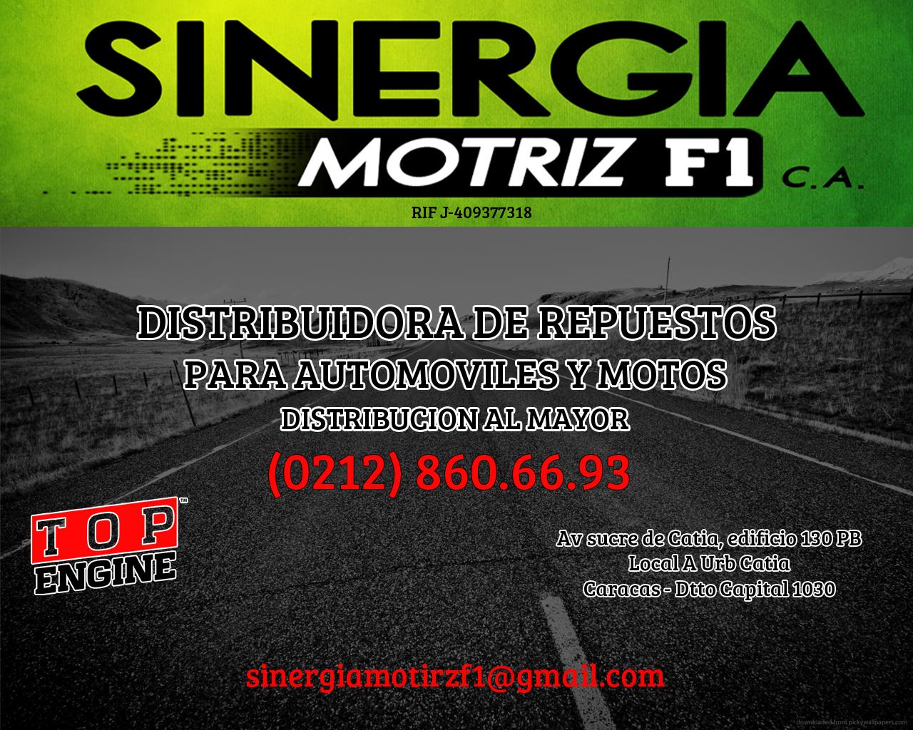 SINERGIA MOTRIZ F1 C.A en Paginas Amarillas tu guia Comercial