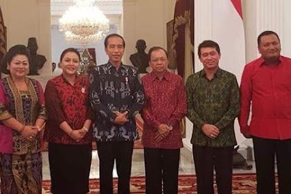 Presiden Terima Kunjungan Gubernur Bali Wayan Koster di Istana Merdeka