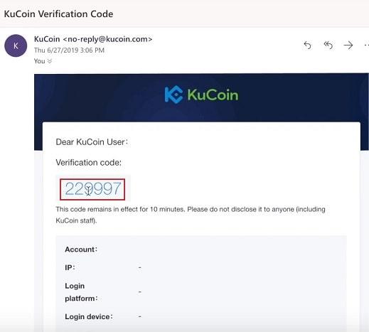Verificación Kucoin comprar SYNTHETIX NETWORK TOKEN