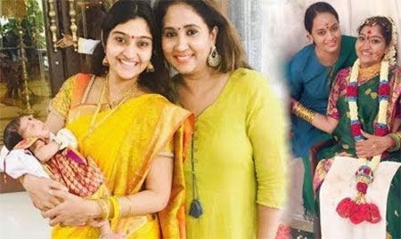 "Vani Rani Actress Neelima Rani Baby ""ADITI"" Naming Ceremony || Baby Shower || Sweet Moments ||"