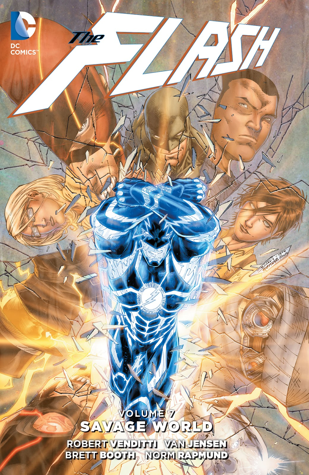 Read online The Flash (2011) comic -  Issue # _TPB 7 - 1