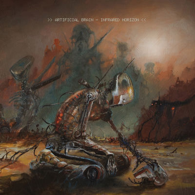 Artificial Brain - Infrared Horizon - Album Download, Itunes Cover, Official Cover, Album CD Cover Art, Tracklist