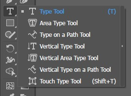 Text Type Tool