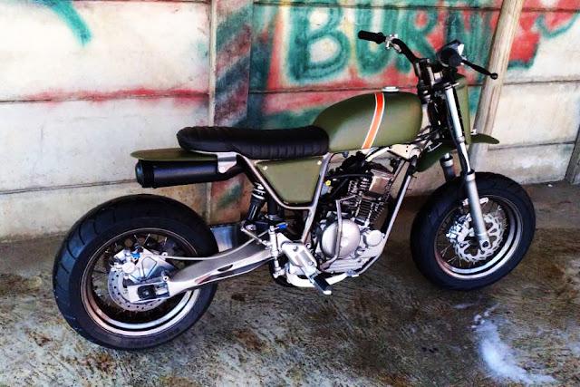 Yamaha Scorpio 225cc The Laleur Hejo 3