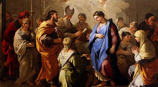 O amor divino informa os esponsais de maria e jos e o amor a deus - Divinos pucheros maria jose ...