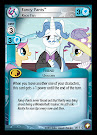 My Little Pony Fancy Pants, Race Fan Equestrian Odysseys CCG Card