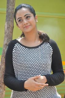 Actress Namitha Pramod Stills on talabbayi sets  0007.jpg