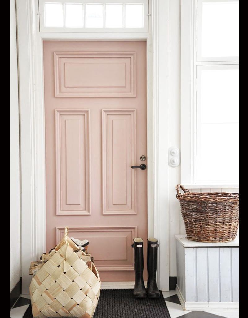 millennial pink door