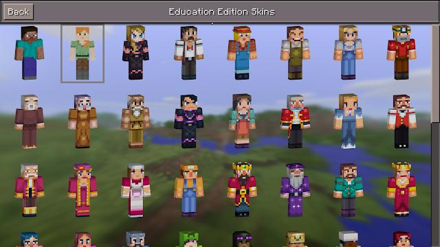 A Microsoft emellett frissített oktatási anyagokat és tanterveket is közzétett, amelyek segítségével az oktatók gyorsan elsajátíthatják a Minecraft: Education Edition használatát. A mintaórák különböző témák és korcsoportok széles skáláját fedik le, eljutva egészen olyan témákig, mint a várostervezés vagy a környezettudatosság.