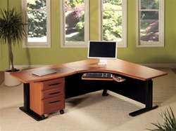 Height Adjustable Office Workstation