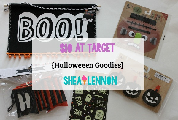 $10 at Target - what I got (lots of Halloween goodies!) | www.shealennon.com