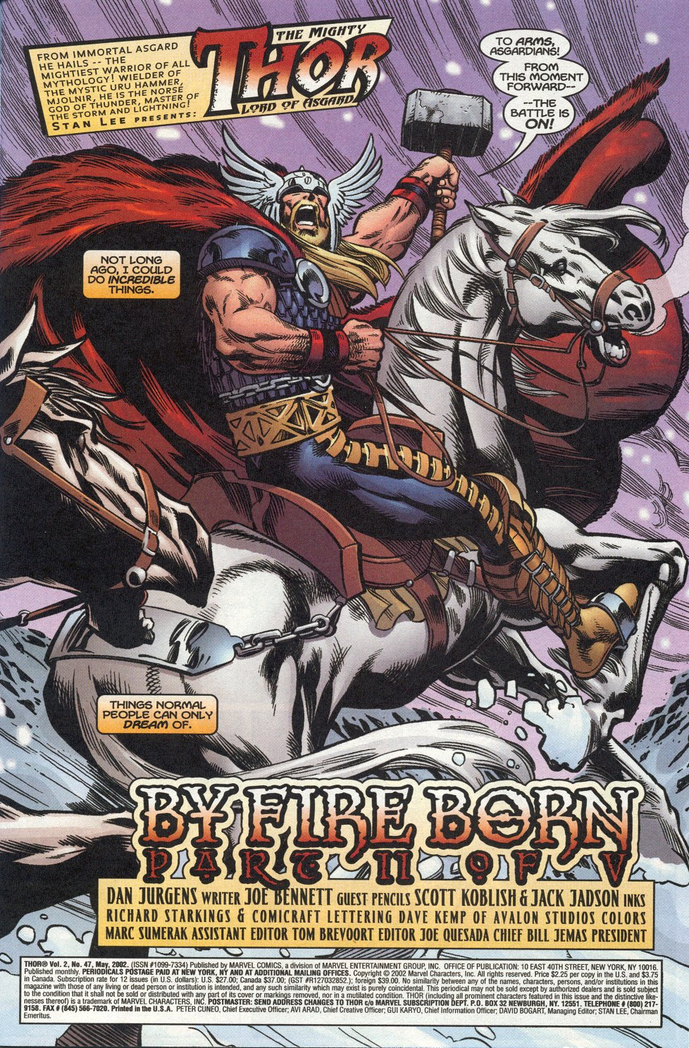 Thor (1998) Issue #47 #48 - English 2