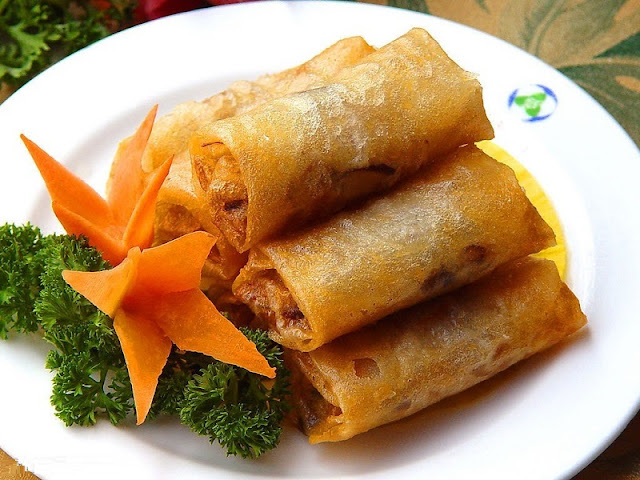 Vietnamese Traditional Fried Spring Rolls 1