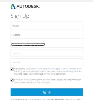 lisensi edukasi Autocad