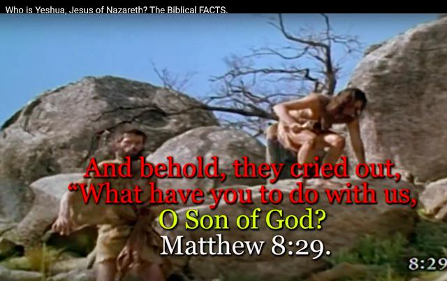 Matthew 8:29.