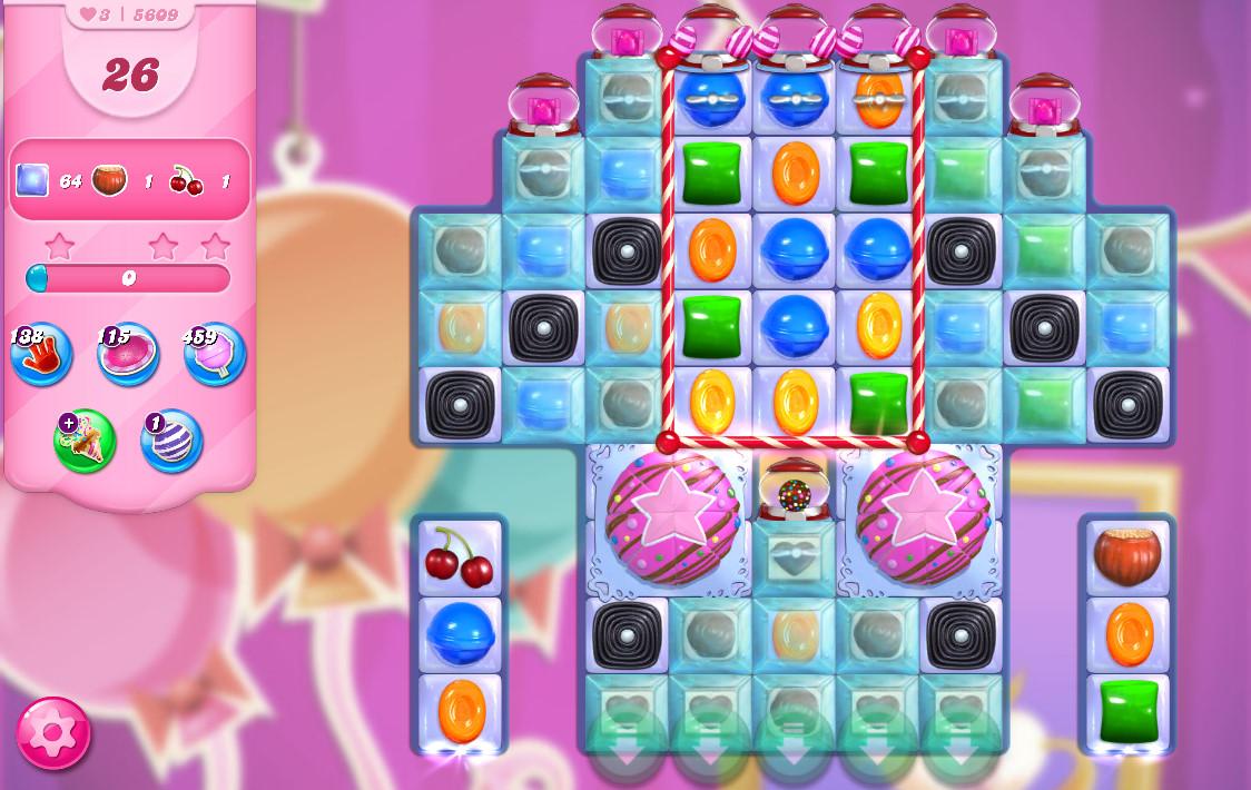 Candy Crush Saga level 5609