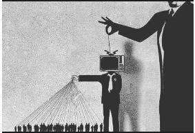 manusia Sudah Dikuasai Media/ Televisi
