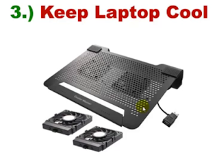 keep laptop cool