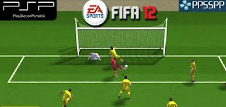 Game FIFA 2012 PPSSPP/ISO High Compressed