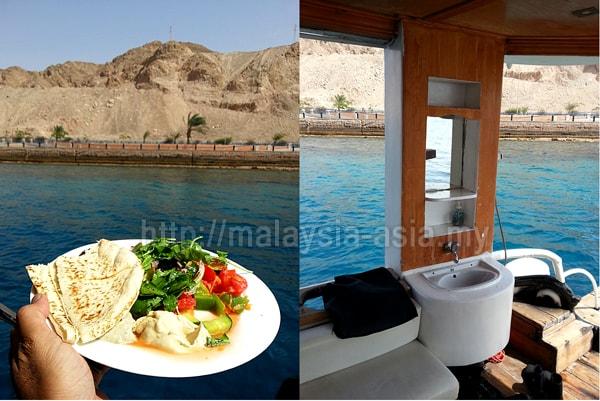 Aqaba dive operator boat