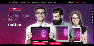 Adnow homepage