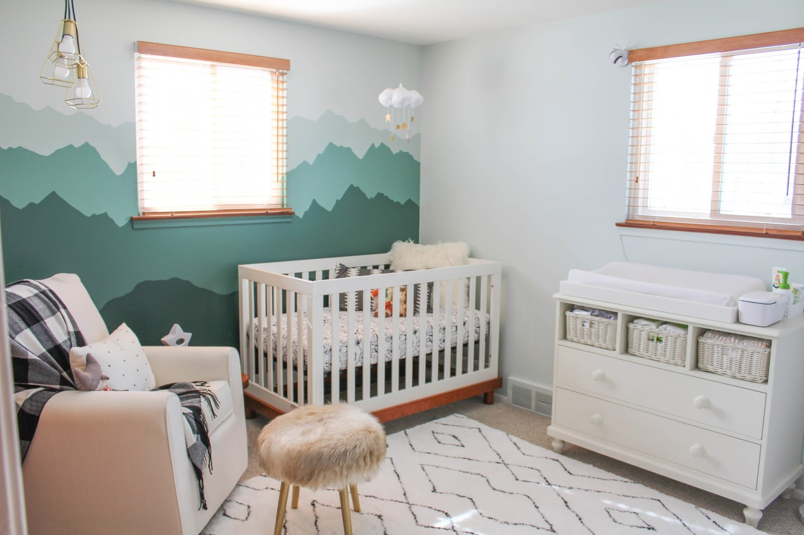 Itu0027s So Dreamy And Calming, And We Managed To Pull This Off With A Small  Budget. The Changing Table Is A Craiglist Find That ...