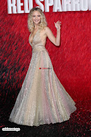 Jennifer Lawrence in a golde glittering gown at Red Sparrow Premiere in London ~  Exclusive Galleries 019.jpg