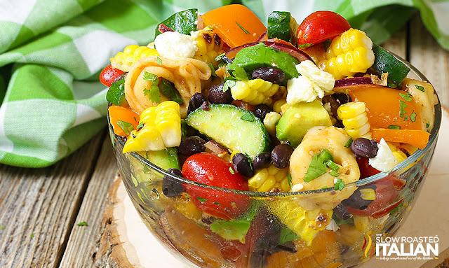http://theslowroasteditalian-printablerecipe.blogspot.com/2017/05/corn-and-black-bean-tortellini-salad.html