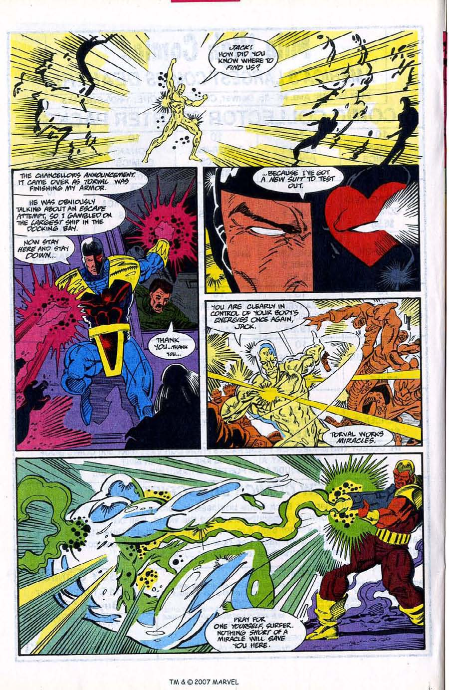 Read online Silver Surfer (1987) comic -  Issue #78 - 20