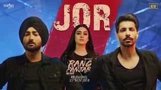 Jor Lyrics | Ranjit Bawa | Sukhzaar