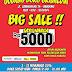 GRAMEDIA BIG Sale Promo Satu Harga Rp 5000 Gudang Buku Gramedia Bandung