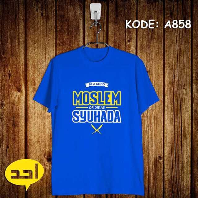 Jual baju Kaos tulisan Dakwah Muslim Islam