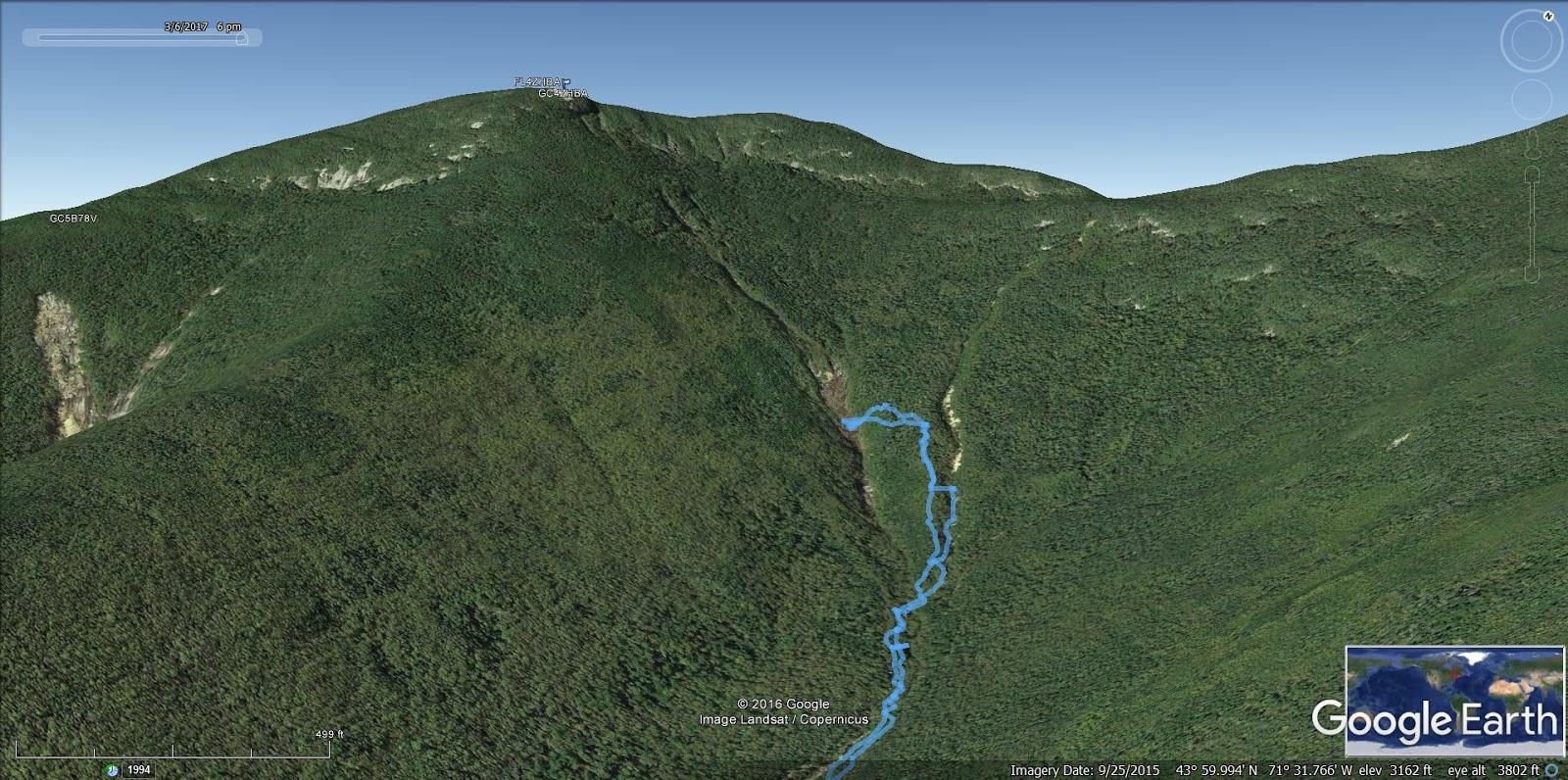 OSCEOLA Mt Osceola East Osceola NH 4000